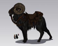 Bato's mount by Jakiron on DeviantArt
