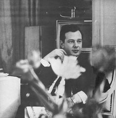 Brian Epstein photographed by Ringo