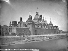 El Pilar sin las torres. Hacia 1867