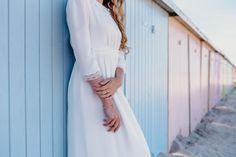 Robe LYSANDRA  #mariage #mariée #robe #Robedemariée #weddingdress #wedding #bride #bridetobe #lace #dentelle #plage #faitmain #artisanat #madeinfrance