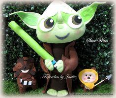 """""""May the Force be with you.""""(""""Que a Força esteja com você."""") Inspiração na ilustração do Jerrod Maruyama que sou mega fã!!!Amei a reproduçã..."""
