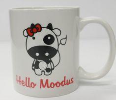 Hello Moodus Mug  MP Impressions Moodus, CT