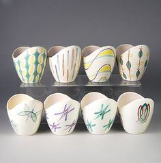 Poole Pottery freeform patterns