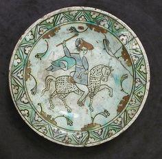 Dish, Iznik, 2nd half 17th century.