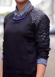 Декор свитера / Свитер / Модный сайт о стильной переделке одежды и интерьера