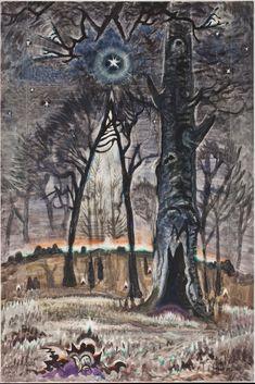 Starlit Woods, Charles Burchfield  1917