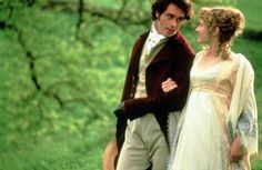 John Willoughby (Greg Wise) and Marianne Dashwood (Kate Winslet) Sense and Sensibility
