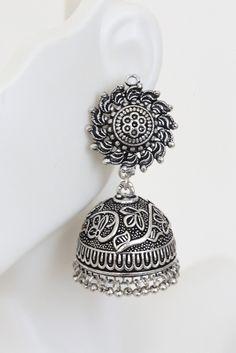SuryaKranti Jhumka Silver Jhumka