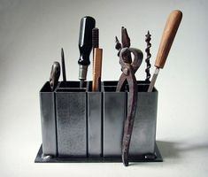 neat for displaying those tools his grandad gave him from the past