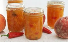Coconut & Lime // Rachel Rappaport: Peach Fish Pepper Jam