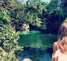 Babinda Boulders Swimming Hole near Cairns, Queensland, Australia. Photo: Sall_y