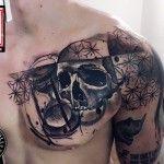 Hourglass & Skull | Best tattoo ideas & designs