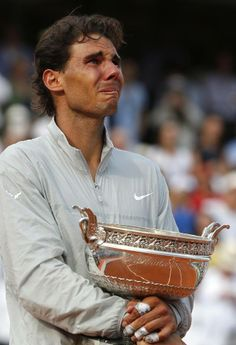 Humble champion...you would never know from this photo that he's won this nine times!