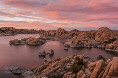 Watson Lake Colors by Arizona. Please Like http://fb.me/go4photos and Follow @go4fotos Thank You. :-)