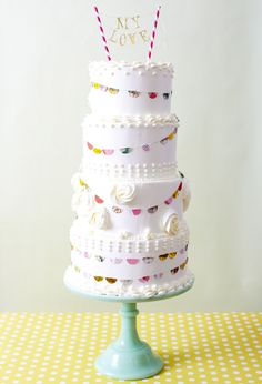 What I like most about this cake is the texture and that is it actual icing and not fondant. I love fondant, but sometimes a good butter cream frosting is just better. Yum!