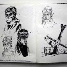 Sketchbook Series: Lars Henkel