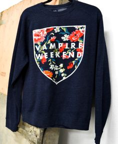 Vibrant tour merch we printed for Vampire Weekend. #bandmerch