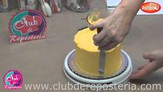 Como Cubrir una Torta con Buttercream