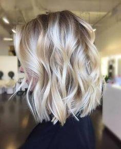 Image result for blonde balayage bob