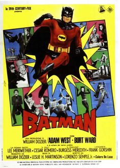 Promotional poster for the 1966 Batman film