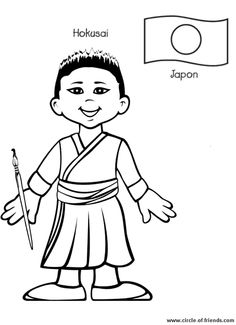 great collection of coloring pages of children from around the world unlimited possibilities - Childrens Coloring Books