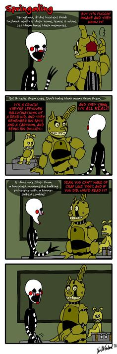 Springaling 116: Fourth Wall Attack by Negaduck9.deviantart.com on @DeviantArt