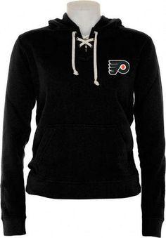 Philadelphia Flyers Womens Queensboro Lace Hooded Sweatshirt