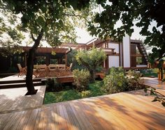 Wooden House Architecture Tends to Traditional but Surrounded by Modernity