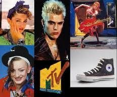 The 80's fashion