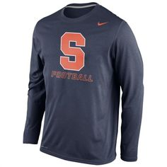 Syracuse Orange Nike Legend Long Sleeve Performance T-Shirt #syracuse #orange #college