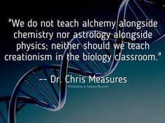 There is a difference between teaching about a subject and teaching the subject. Alchemy, astronomy, and creationism might be important to teach about in a humanities or history course, showing how far we've come in our intellectual history. -KK