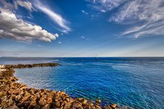 Immense Blue (Gallipoli - Salento - Puglia - Italia - Italy) by Gojca, via Flickr