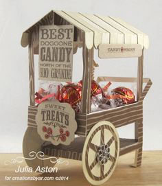 Best Doggone Candy Wagon by artystamper - Cards and Paper Crafts at Splitcoaststampers