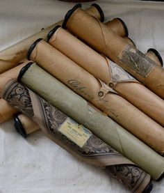 Something about these old piano rolls make me think of elaborate unique invitations