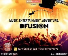 9 - 10 NOV 13 D-Fusion @ Della Call 93727 77777 for Tickets