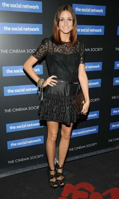 Olivia Palermo At 'The Social Network' Film Screening, 2010
