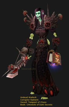 Undead Warlock Leveling up, but first have to get that transmog set (Corruptor set) going. Gotta have the right duds to level properly. Warlords Of Draenor, The Warlocks, Free Website, World Of Warcraft, Video Game, Weapons, Photo Galleries, Books, Libros