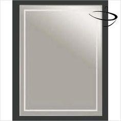 Bathroom Origins Mirrors - Bathroom Origins Chamnix Mirror 40 - 400 x 600mm