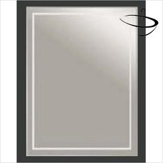 Bathroom Origins Mirrors - Bathroom Origins Chamnix Mirror 40 - 400 x 600mm