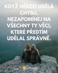 Chyba se lepší vidí jak to druhé Story Quotes, Sad Quotes, Woman Quotes, Motivational Quotes, Life Quotes, Inspirational Quotes, Positive Words, Positive Vibes, Clever Quotes