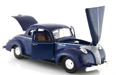 1940 Ford Coupe Hard Top Die-cast 1/24 New
