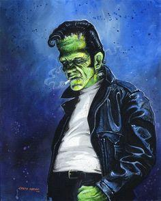 Rockabilly Frankenstein