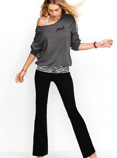Slouchy Crew - Victoria's Secret PINK® - Victoria's Secret but in pink
