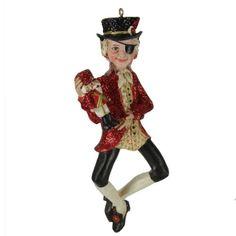 """5"""" Glittered Nutcracker Suite Ballet Drosselmeier Christmas Figure Ornament Kurt Adler http://www.amazon.com/dp/B00OSJNYXE/ref=cm_sw_r_pi_dp_.O0Rub0013HV6"""