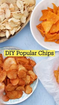 Appetizer Recipes, Dessert Recipes, Food Recipes Snacks, Appetizers, Fun Baking Recipes, Cooking Recipes, Easy Snacks, Healthy Snacks, Homemade Chips