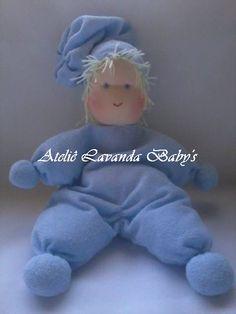 Quer decorar o cantinho do seu nenê? Bonecas Amélie Baby,confecciono em todas as tonalidades.