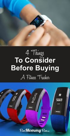 Avoid buyer's remorse when choosing your next activity tracker. Read this article and find out what 4 things to consider before buying a fitness tracker. Fitness Tracker, Training Fitness, Cardio Training, Fitness Tips, Running Watch, How To Start Running, How To Run Faster, Running For Beginners, Running Tips