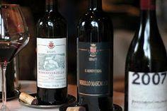 Benanti Il Monovitigno Nerello Mascalese, a very elegant wine from the foot of Mt. Etna in Sicily.
