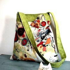 Arabesque Bags  colourful Shoulder bag kandinskij di Arabesquebags