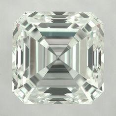 Stunning GIA Certified 1.60 Carat J-VVS2 Ideal Cut Asscher Diamond